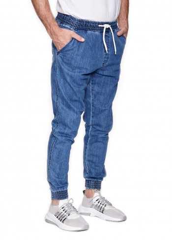 Spodnie BOR JOGGER FIT - light jeans