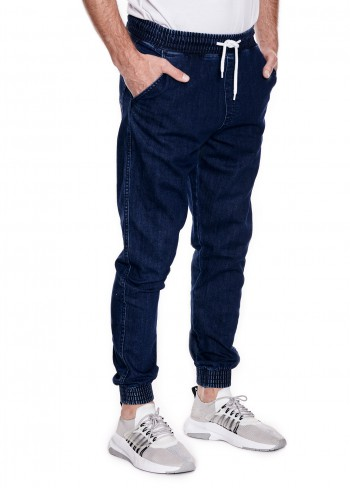 Spodnie BORCREW BOR JOGGER FIT - medium jeans